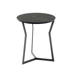 Coedition - Table d'appoint guéridon Star Marquina