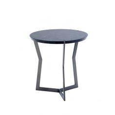 Coedition - Table d'appoint guéridon Star Marquina (Mini)
