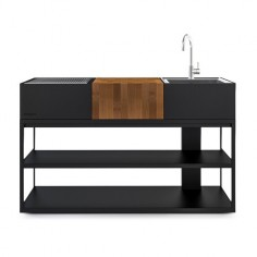 Roshults - Cuisine avec barbecue Open Kitchen 150