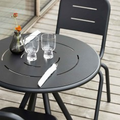 Woud - Table de jardin ronde Ray